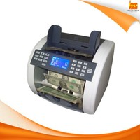 Front Loading Mixed Notes Value Currency Money Counting Machine