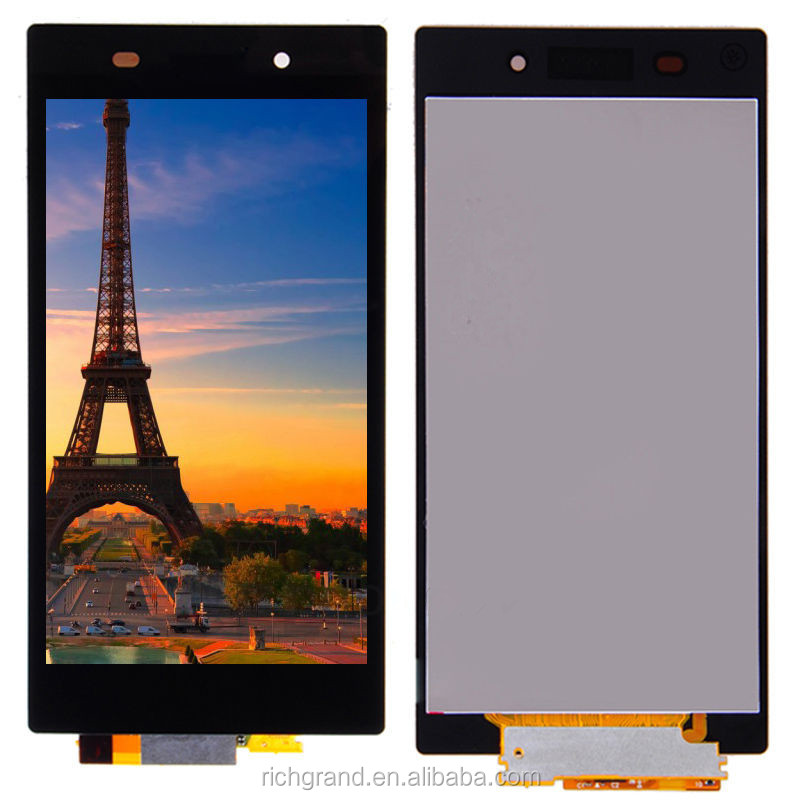 For Sony Xperia Z1 Black LCD Display Touch Screen Digitizer Front Assembly NEW