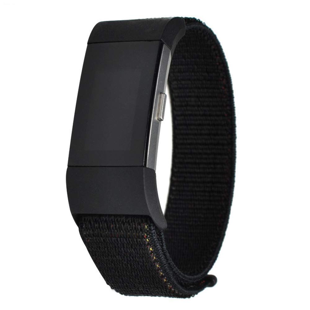 FitbitWatchBands FitbitCompatible Fitbit Bands for Girls Fitbit Charger Alta Fitbit Charge FitbitBandsPack FitbitBandsSet (Black,Charge2)