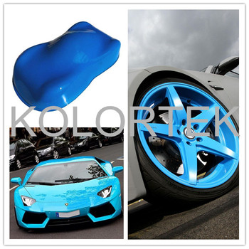Neon Blue Fluorescent Pigment Powder For Car Paint Made In China Auto