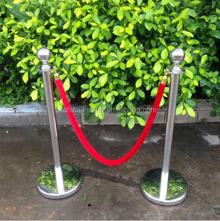 2018 Barrier Poles,Black U Shape Stackable Traffic Barrier,Rope Stand / Portable Crowd Control Post / Velvet Rope Stanchion