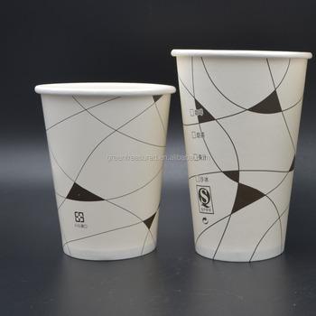 Cartoon Spongebob Disposable Paper Coffee Tea Cuplogo Printed Oem