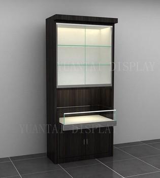 Timber Veneer Wall Display Unit/retail Furniture Wall Units