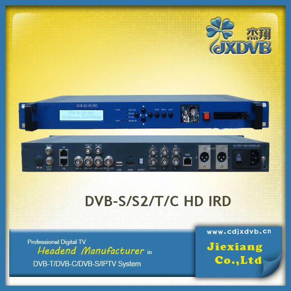 Low Cost MPEG 4 Satellite Receiver