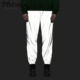 Custom Fashion Men's 3M Silver Reflect Track Pants