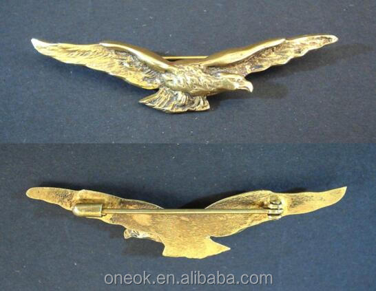 Gold Metal Airline Pilot Wing Badges Eagle Lapel Pins - Buy Custom Metal  Pilot Wings Pins,Pilot Wings Pin Badge,Custom Pilot Wing Badge Product on
