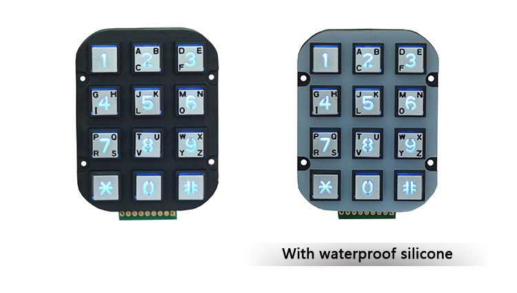 quality supplier usb mini numeric keypad pos keybaord 2 door access control panel keypad