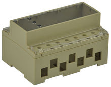 electronic standard din-rail enclosure in Flame retardant ABS