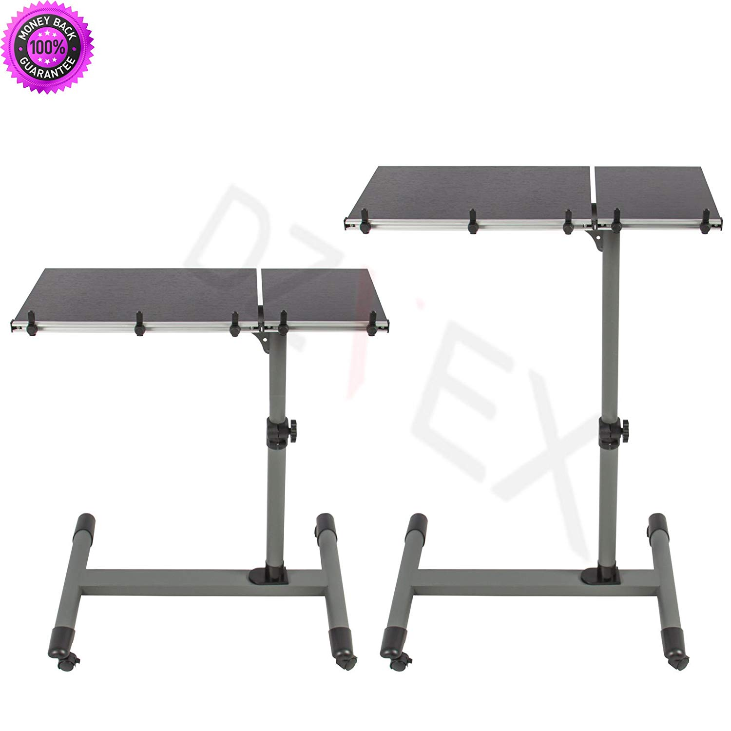 DzVeX__Rolling Laptop Table W/ Tilting Tabletop Overbed Desk TV Food Tray Hospital PC And office furniture stores near me executive office furniture small home office furniture sets modern office