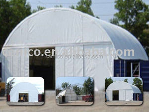12m Engineered Container Building with doors, portable storage shelters, warehouse tent