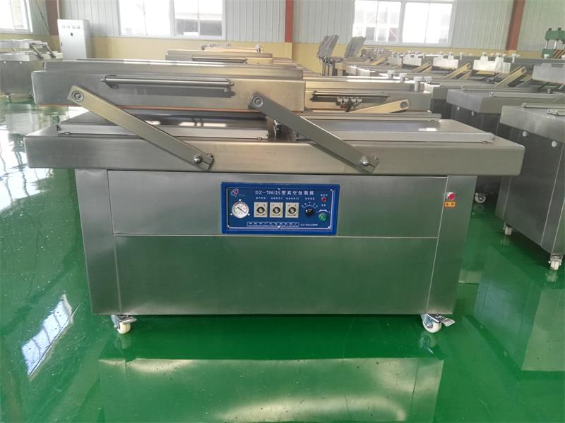 vacuum packing machine manufacture/fresh food vacuum packing machine for clothes/automatic double-chamber vacuum packing machine