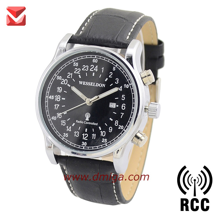 DCF77 radio controlled 24 hours display watches