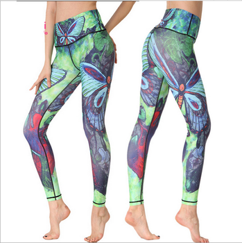 9c25ce634b China Factory Wholesale Custom Sublimation Yoga Leggings For Ladies ...