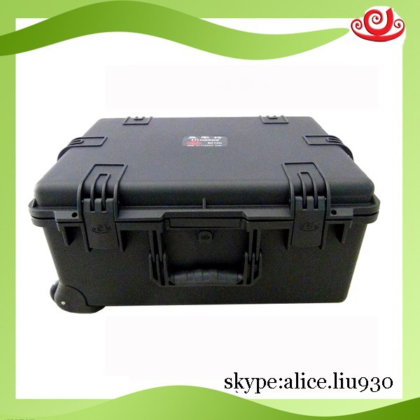 Hard waterproof shockproof larger plastic tool box