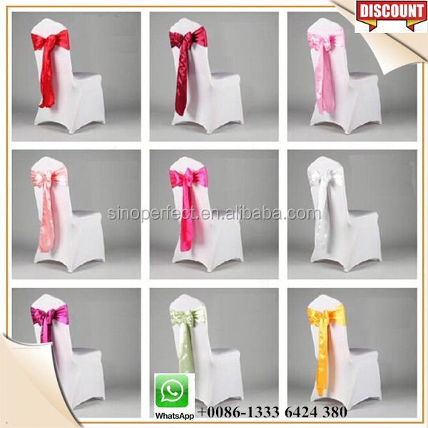 Foshan Guangzhou Quality fancy chair sashes for weddings event