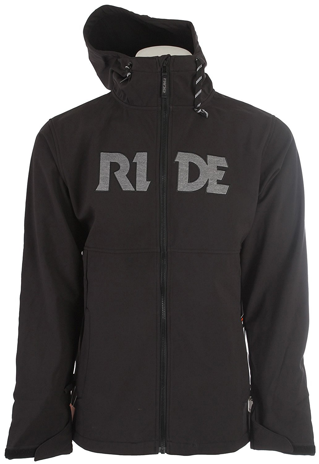 Ride Pike Bonded Fleece Softshell Black Mens