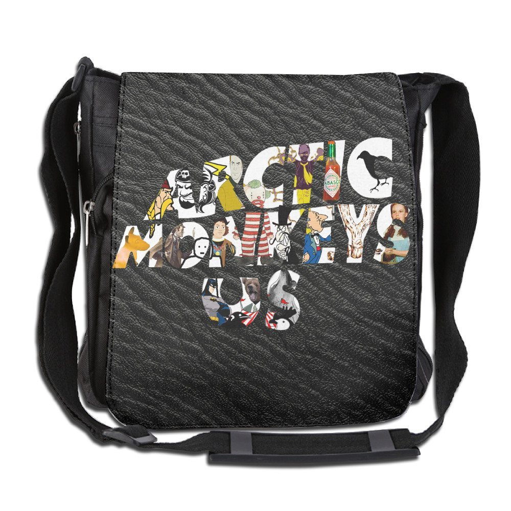 Canvas Arctic Monkeys British Unisex Crossbody Laptop Case