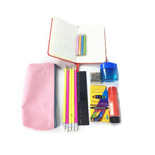 Cute China Wholesale Office Stationery Kit Items List Custom Children Back To School Stationery Set Products Supplies For Kids