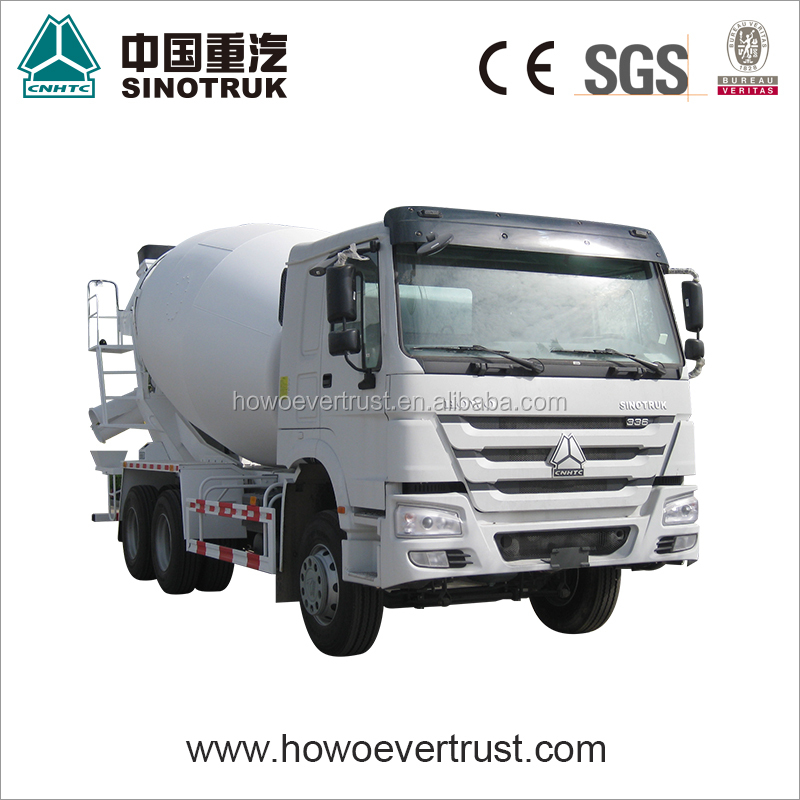 low price used SINOTRUK HOWO 371hp 10 cubic meters concrete mixer truck 6x4 for sale