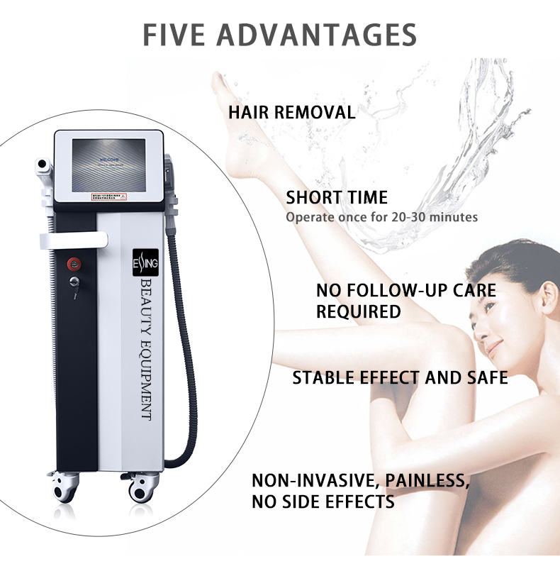 YST-36 ESSING multifunction hair remover equipment removal hair removal tattoo removal spots and red vessel