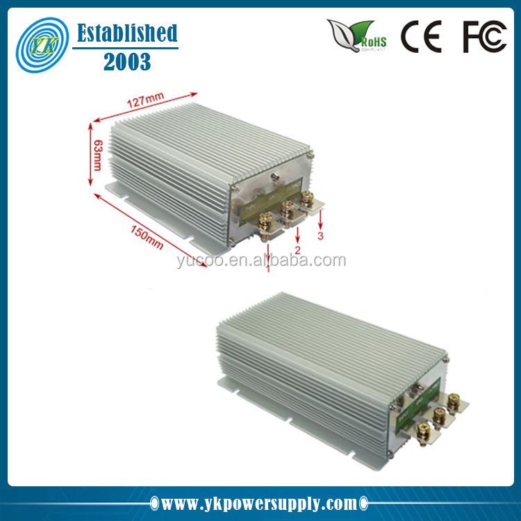High output current 24v buck to 12v dc dc converter 60A