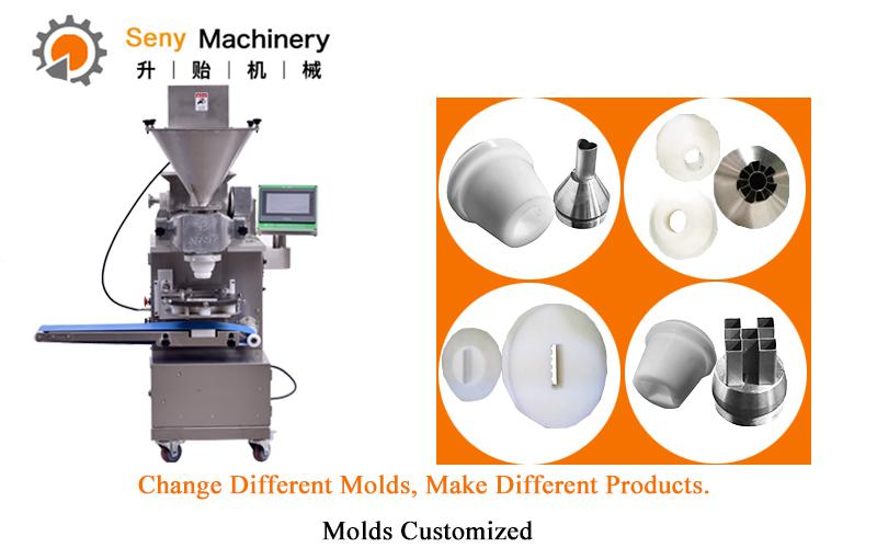 Professionele Kleine Automatische Encrusting en Vormen Kubba/Kibbeh Machine