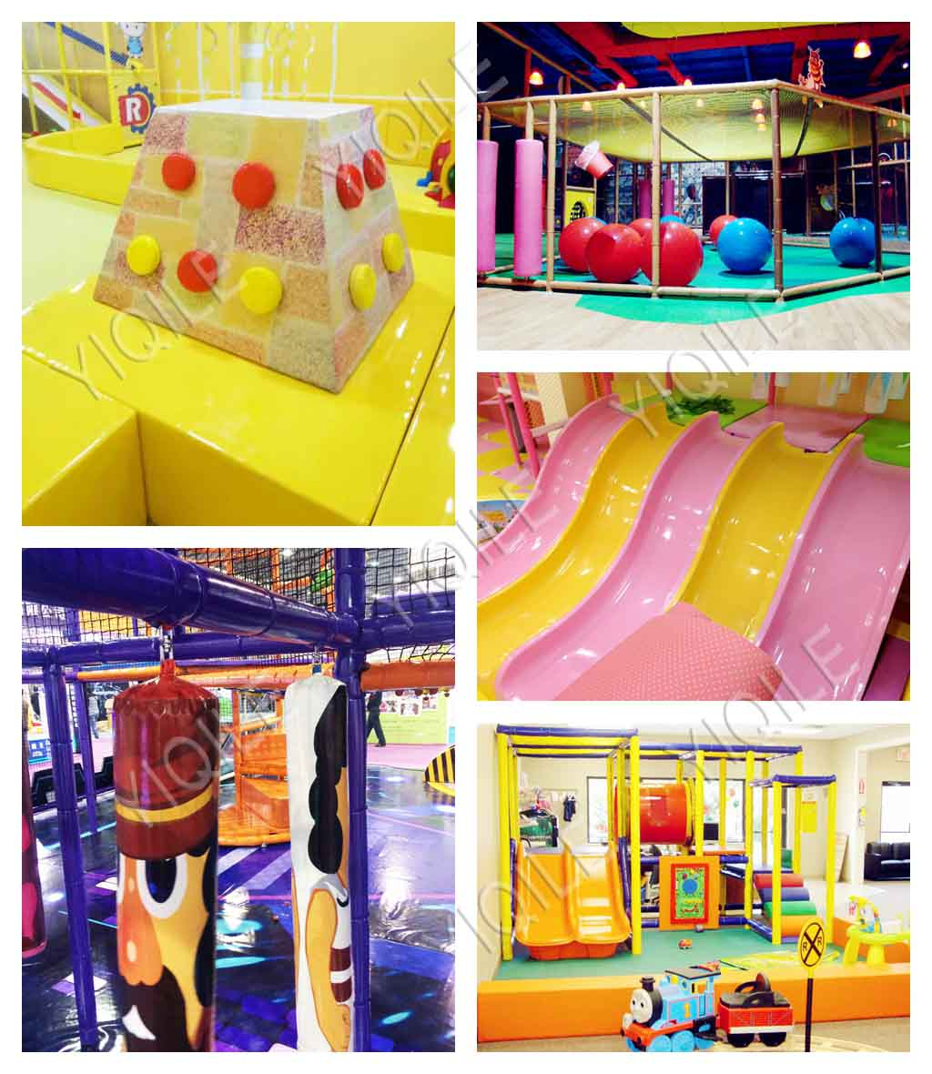 Sweet Candy Theme Park climbing frame soft play equipment kids indoor baby soft play playground equipment