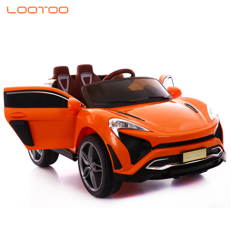 China products 4 wheel rechargeable electric remote simulation mini ride toys double seat kids car for boys to drive