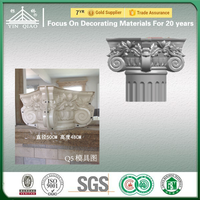 Chinese Supplier Wholesale Molds Products For House Exterior Column Capital