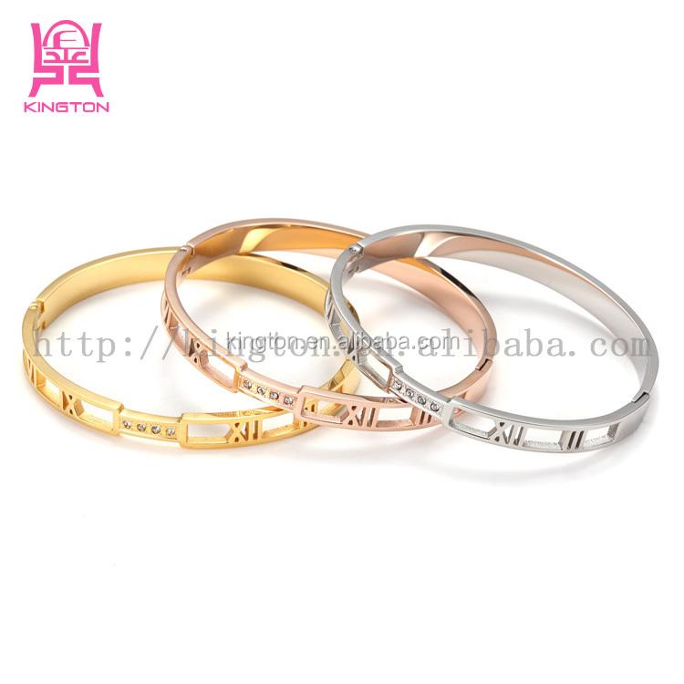 Latest Design Daily Wear Gold Stones Set Bangle - Buy Latest ...
