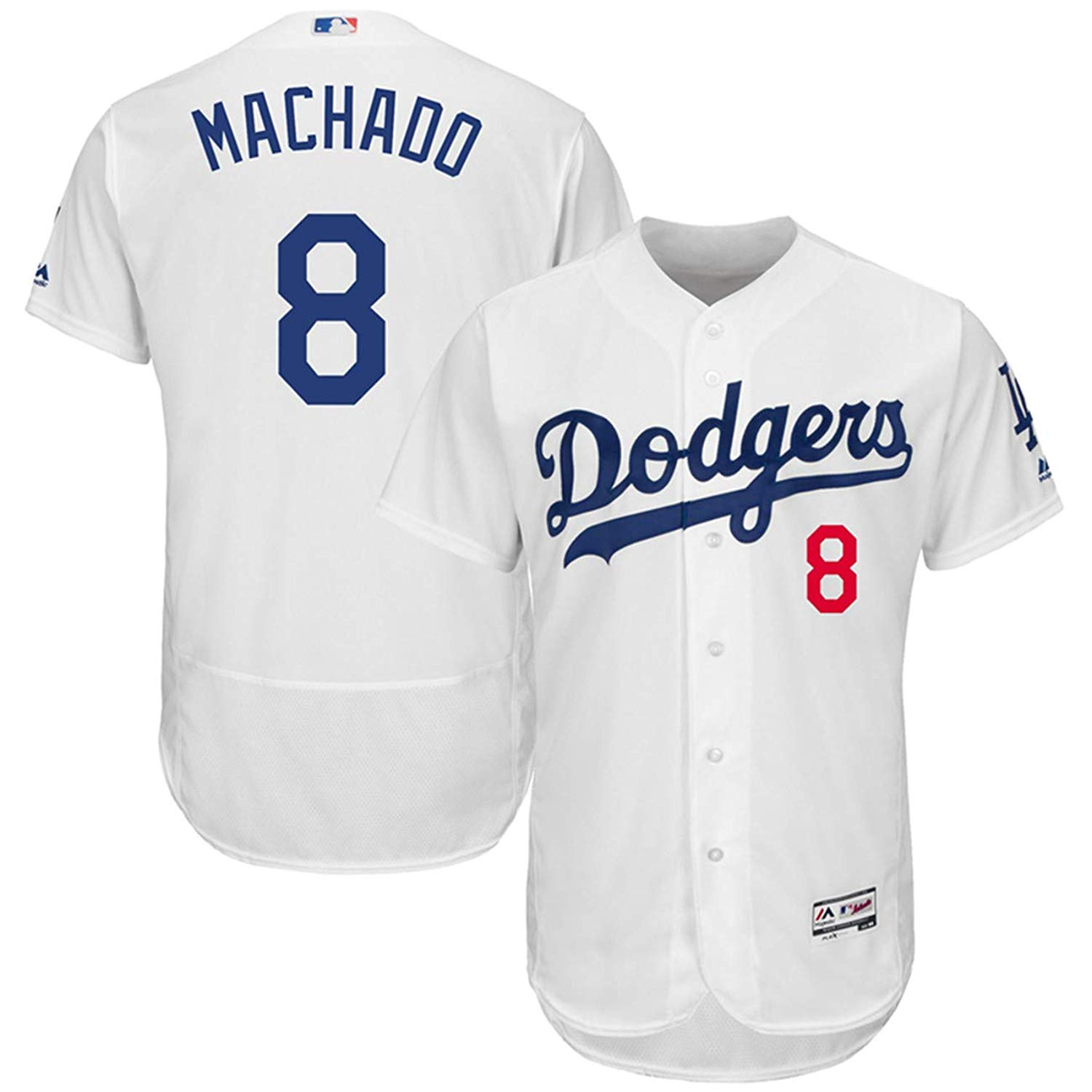 7f7f3c692 Get Quotations · Majestic Athletic Men s Manny Machado Los Angeles Dodgers  Home Player Jersey White