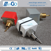 Famous microswitch high protection high waterproof brass water flow switch, SS water flow switch