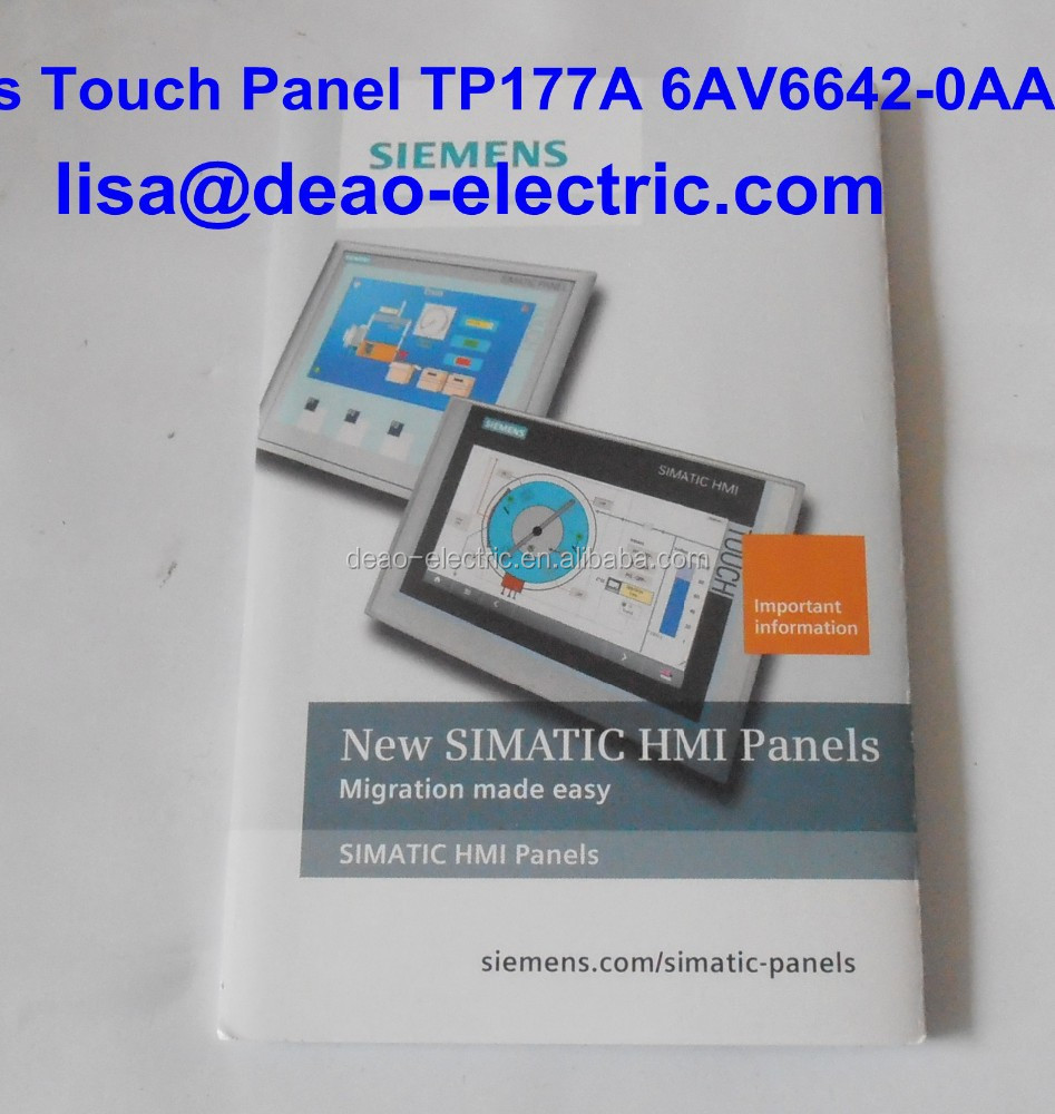 New SIEMENS TP177A 6AV6642-0AA11-0AX1 touch screen// glass 6AV6 642-0AA11-0AX1