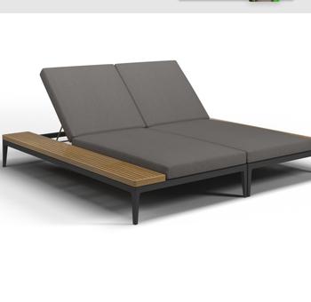 Patio Outdoor Aluminium Chaise Lounge
