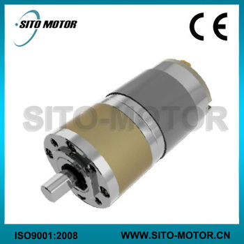 12v 24v Low Rpm High Torque Dc Planetary Gear Motor For