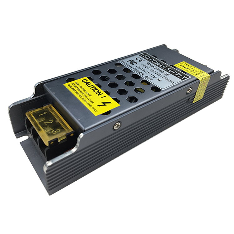 Switch mode led power supply 12V 5A 60w electronics led driver with CE FCC BIS certificate