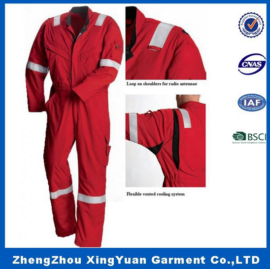High Quality Flame Retardant Coverall / Fire Resistant Workwear