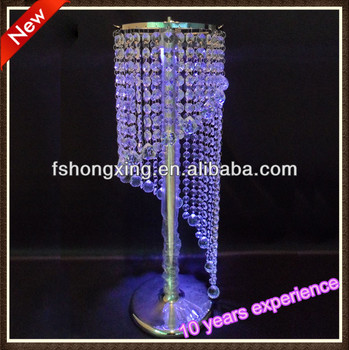 Hot Spiral Chandelier Wedding Tabletop Decoration Centerpiece Acrylic Crystal Diamond Flower Stand