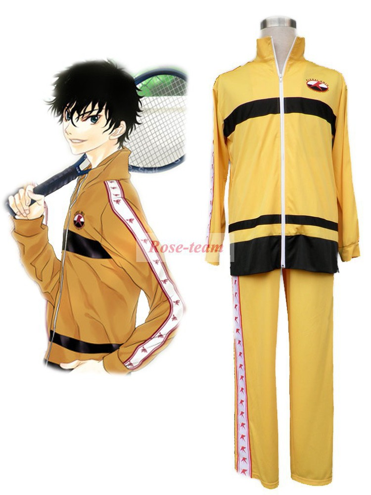 Rose Team-The Prince of Tenni Rikkaidai Tennis Team Winter Uniform Anime Sexy Halloween Carnival Costume