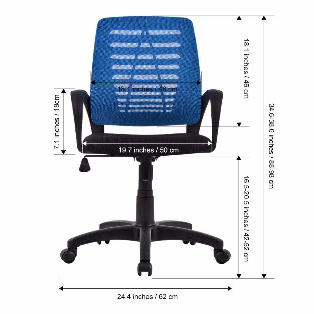 Superb Us Ergonomic Mid Back Mesh Swivel Computer Task Office Chair Machost Co Dining Chair Design Ideas Machostcouk