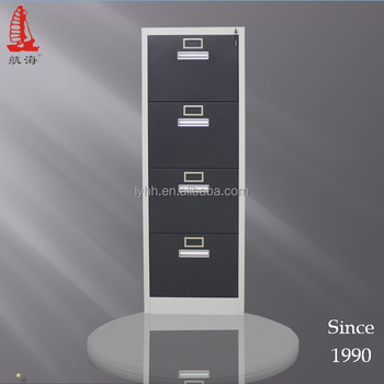 Funky Furniture Black Steel Master File Cabinets 4 Drawer Metal Office Hanging Cabinet