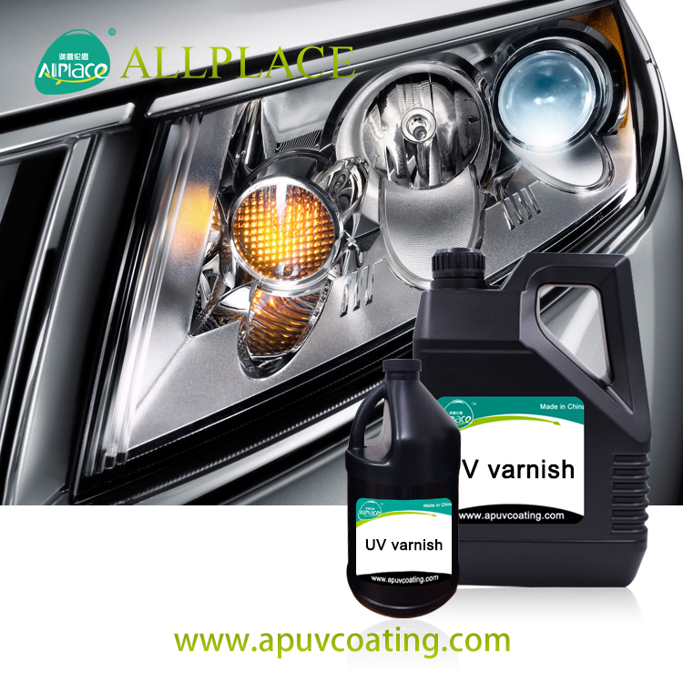Manufacturer UV Coating For Car Headlight UV Varnish