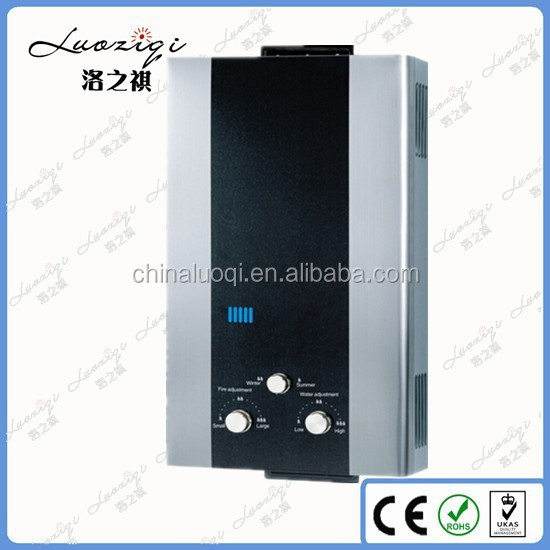 Flue Type/Balance Type 12L Gas Water Heater for Bathroom Shower