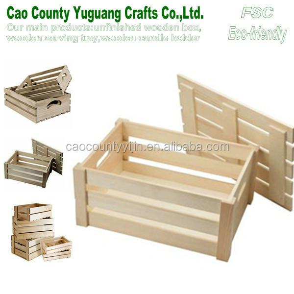 baratos cajas de madera para frutas verduras