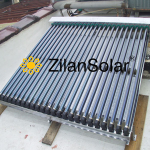 China supplier solar thermal pressurized collector price