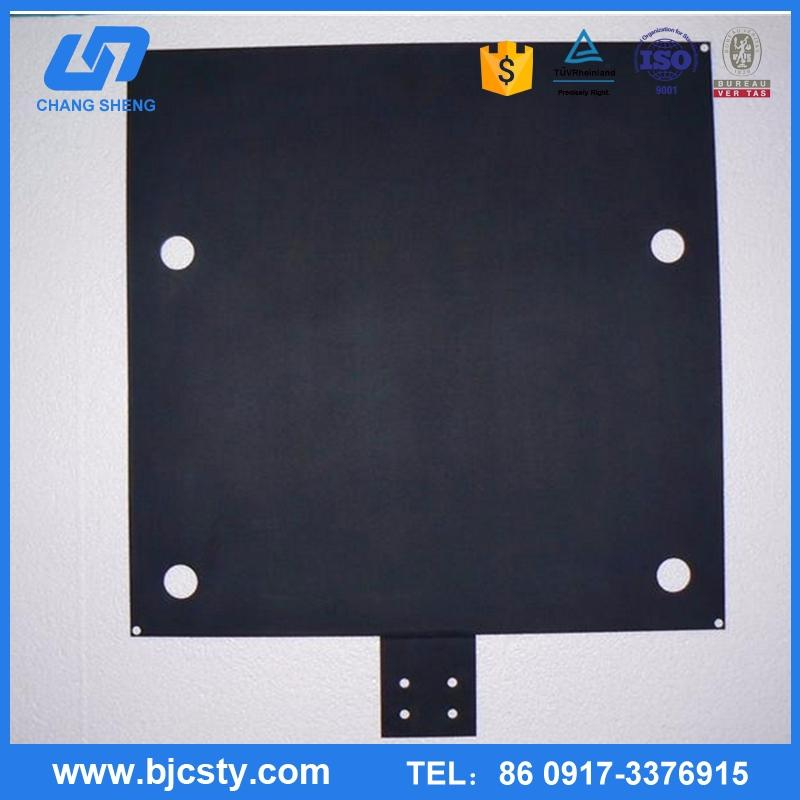 Baoji titanium anode plate for electrochlorination with great price