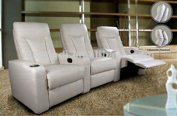 Asientos de cine en casa sof reclinable amor asiento - Asientos para sofas ...