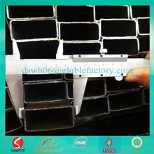 Hebei building material hollow square/ rectangular pipes pricing
