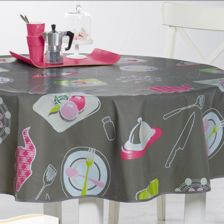 pvc tablecloth, quality vinyl tablecloths, custom made tablecloths