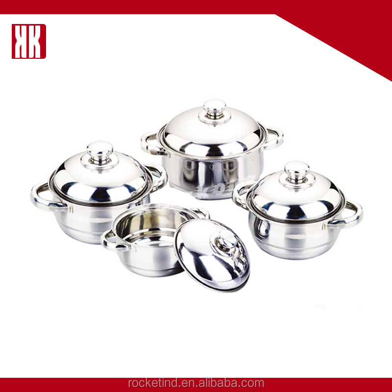 Cost-Effective Oem Service Cooking Pot Stainless Steel Metals Cookware